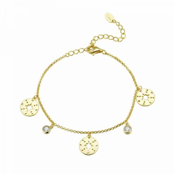 Glimpse Gold Bracelet jewellery shop - glimpse gold bracelet 600x600 - Jewellery, UK Jewellery Shops & Online Jewellery Store | Azurechic