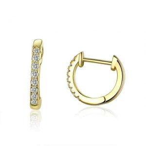 gold-mini-hoops-azurechic-jewellery