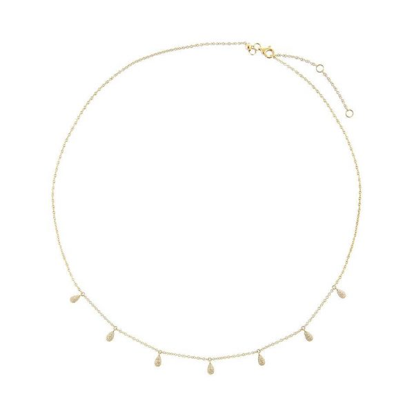 Aphrodite Gold Choker Necklace Sterling Silver Choker azurechic - Aphrodite Gold Choker Necklace Sterling Silver Choker 600x600 - Back in Stock | Re-stocked Best Sellers | Azurechic