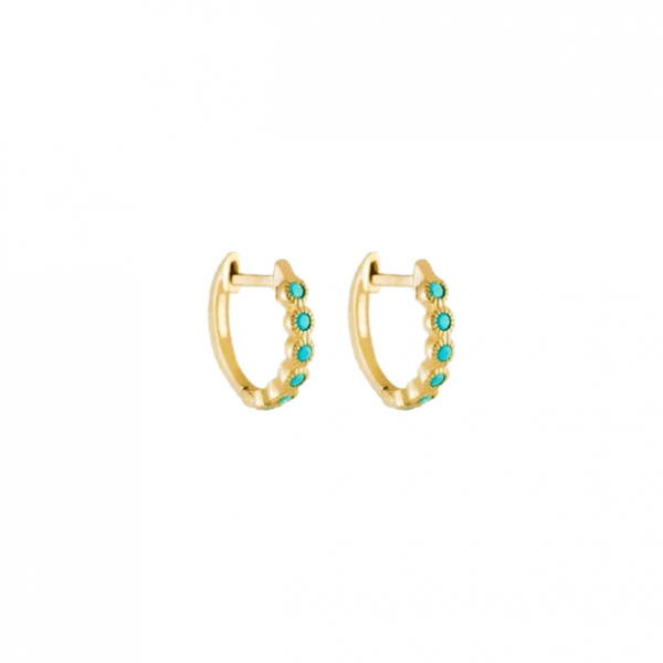 Azurechic gold hoops