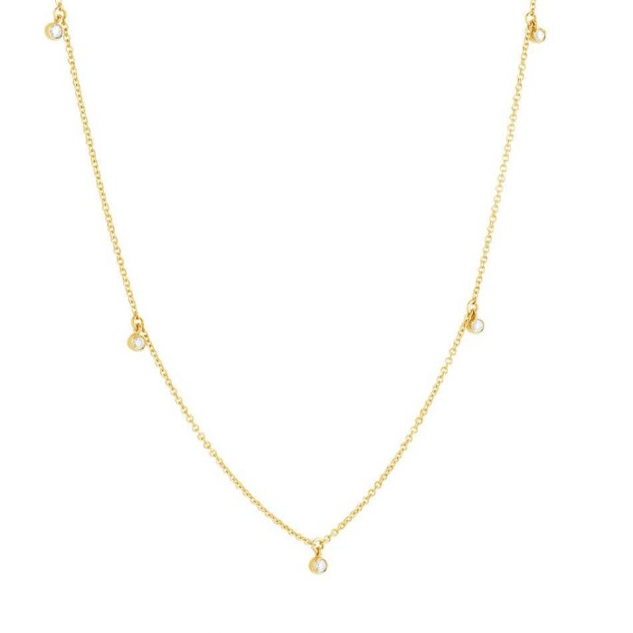 Hera Gold Choker Necklace