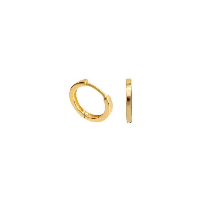 gold azurechic hoops online jewellery shopping