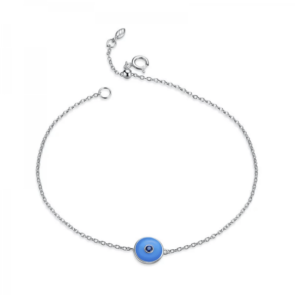 Bluestone evil eye bracelet