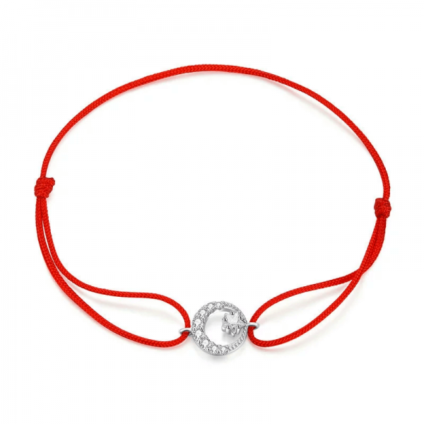 Moon & Star Bracelet red string bracelet