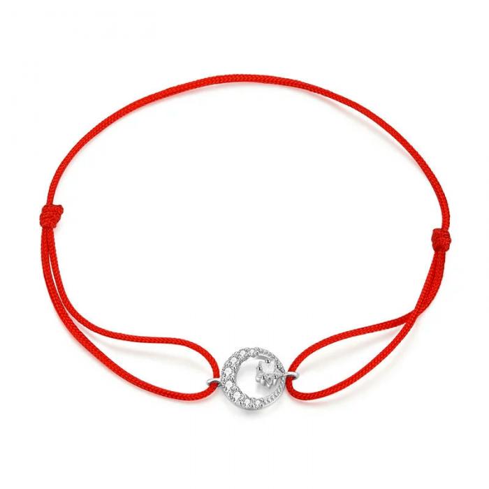 Moon & Star Bracelet red string bracelet
