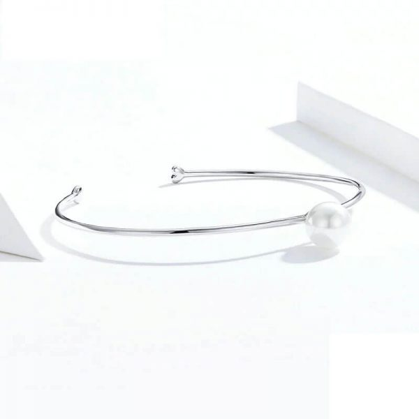 silver-pearl-bangle-bracelet