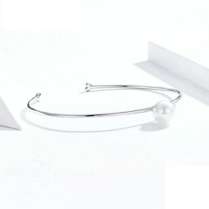 silver-pearl-bangle-bracelet