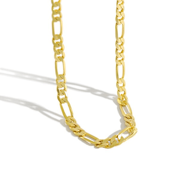 Alecta gold chain 925 sterling silver
