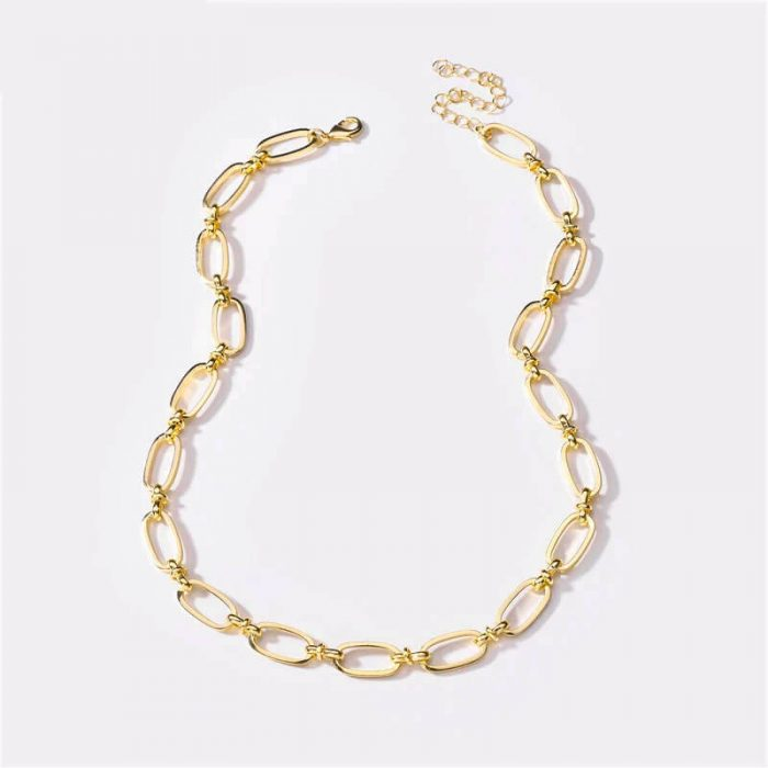 chunky-gold-chain-necklace