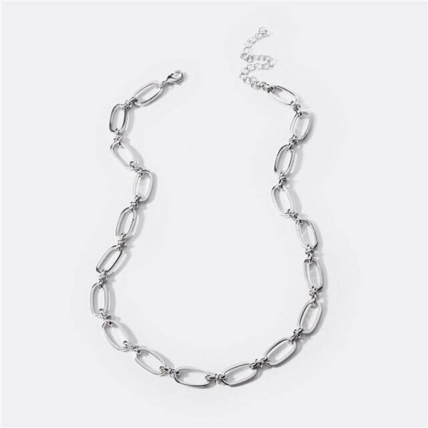 chunky-silver-chain-necklace