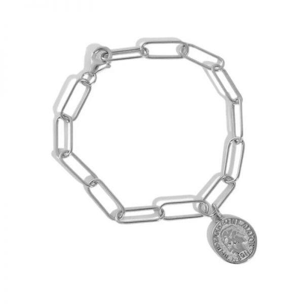 silver-coin-chain-bracelet