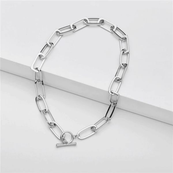 silver-color-chunky-chain-necklace