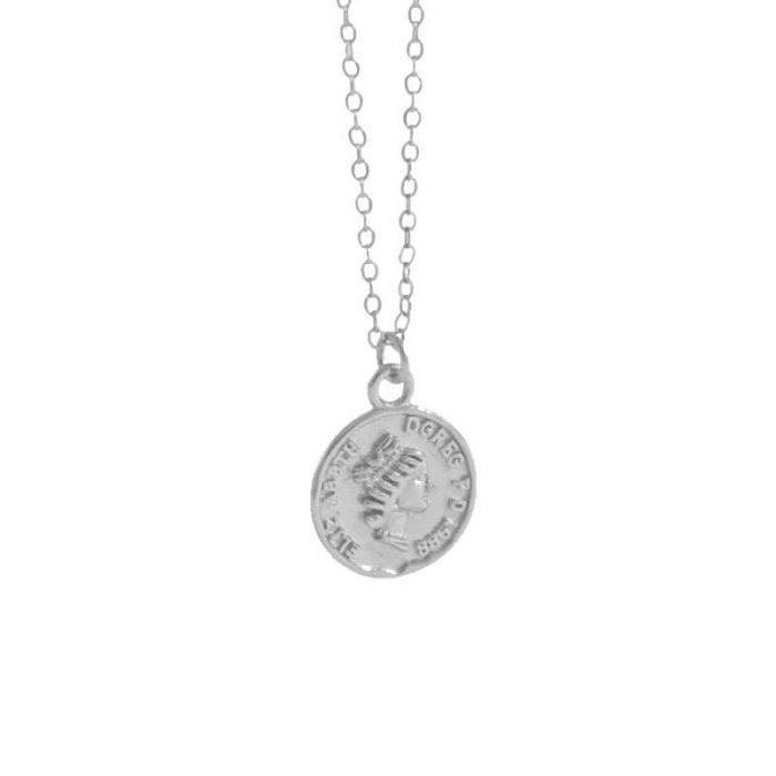 silver-queen-coin-necklace