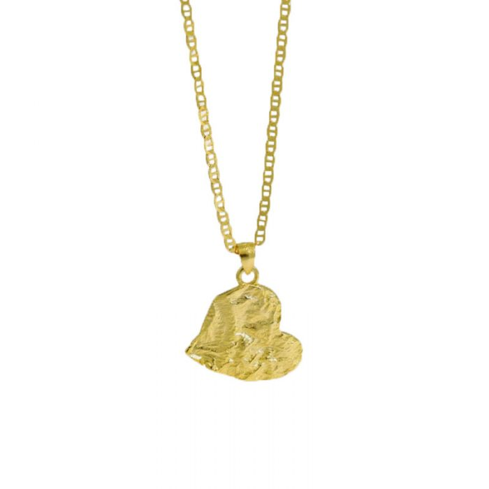 gold-vermeil-abstract-heart-necklace-sterling-silver