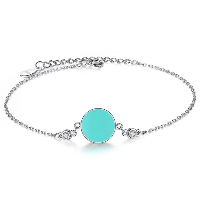 azure evil eye bracelet