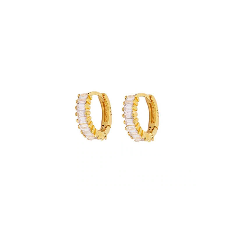 Erato Gold Hoop Earrings