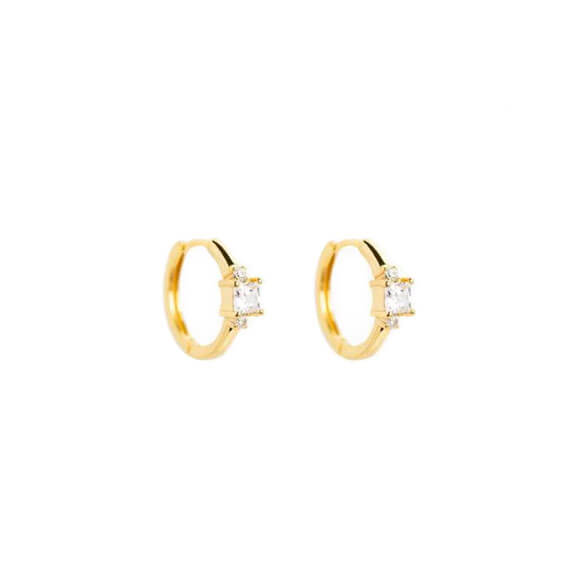 Hermes-Gold-Hoop-Earrings
