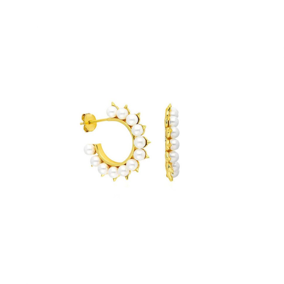 Pearl-Gold-Hoop-EarringsPearl-Gold-Hoop-Earrings