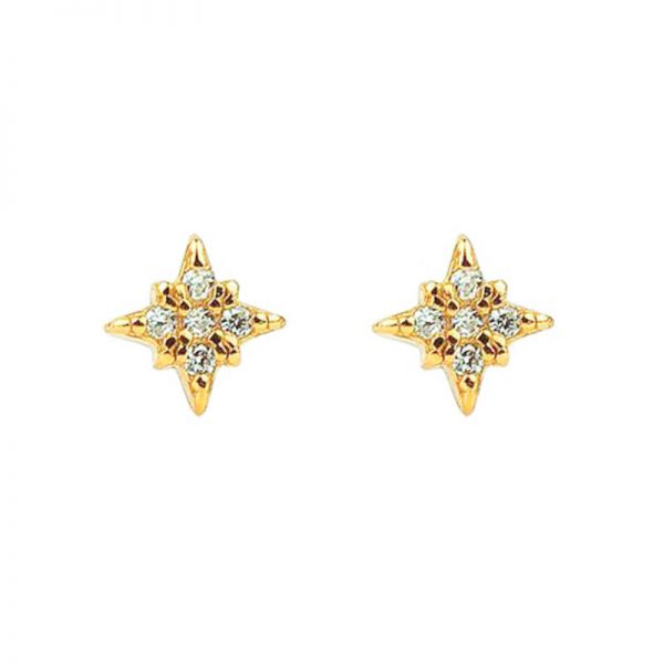 gold-stud-earrings