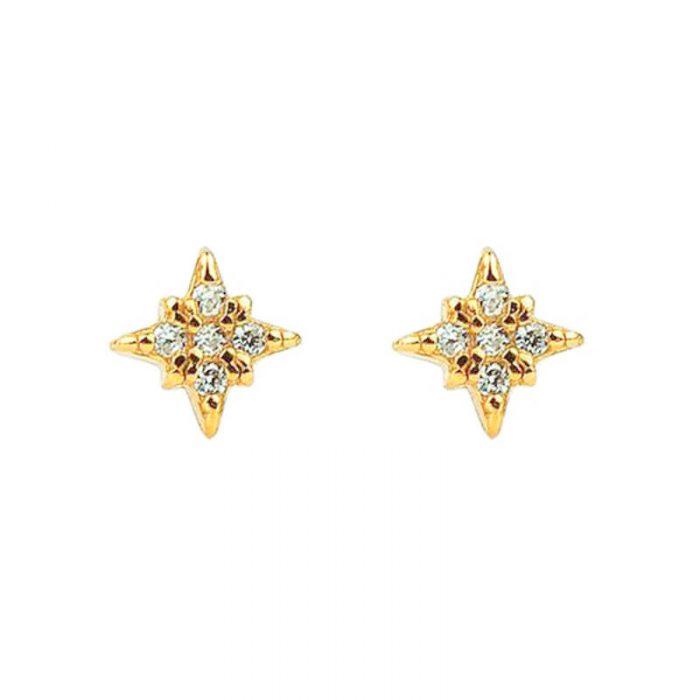 gold-stud-earrings