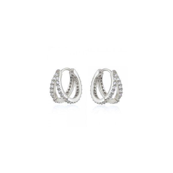 azure-silver-double-hoop-earrings